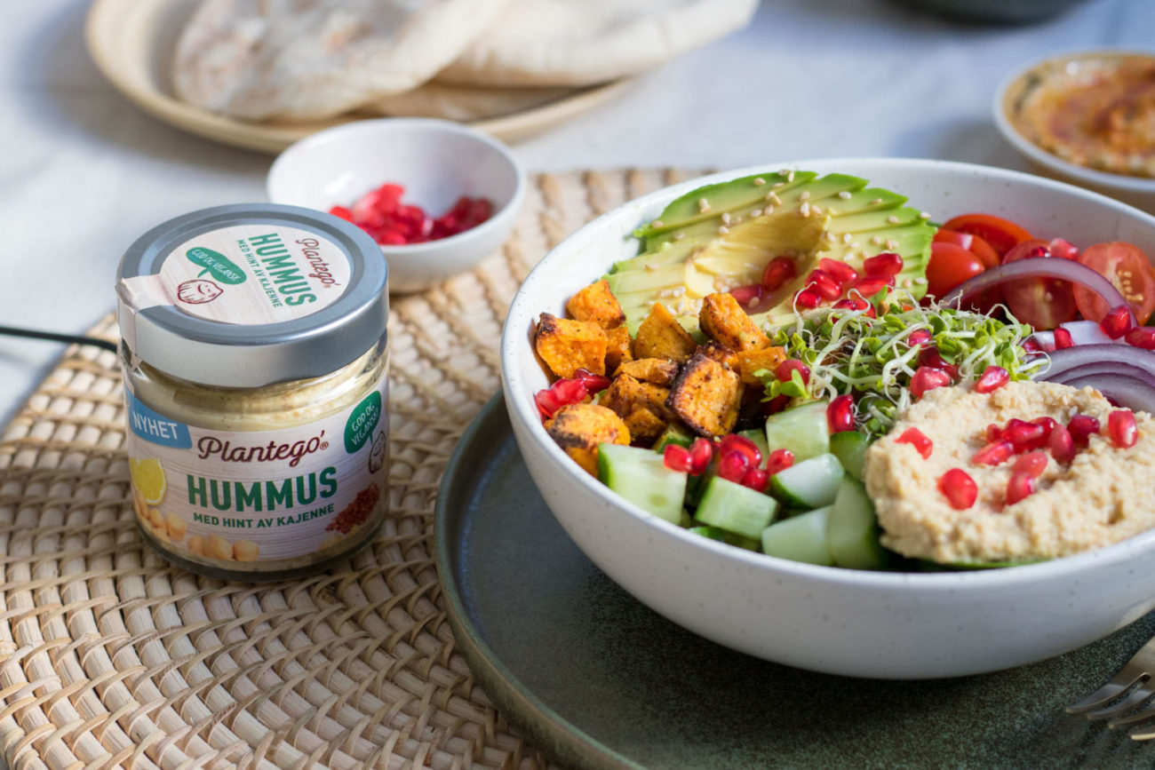 Plantego' Hummus i Buddha Bowl