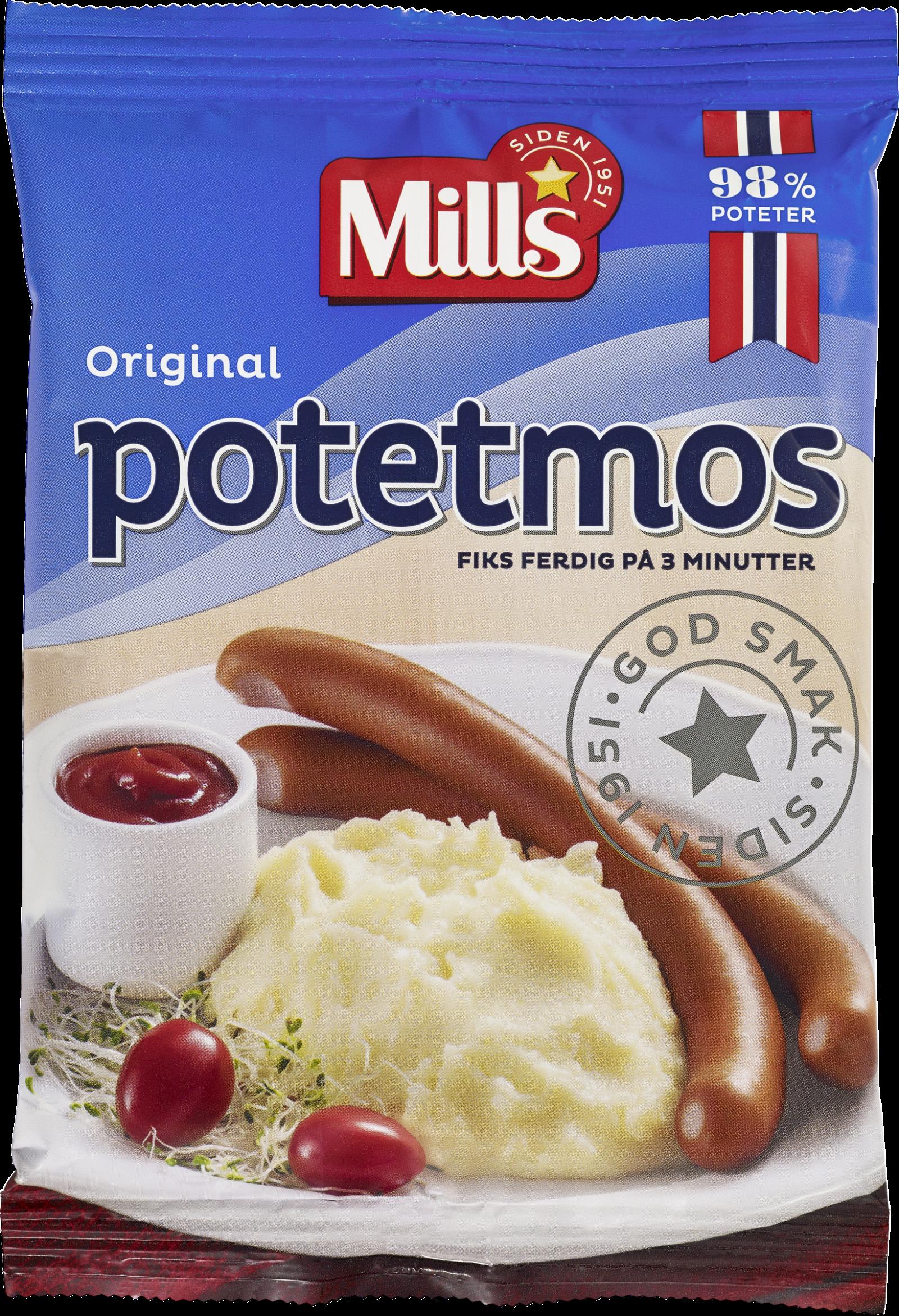Mills Potetmos Vanlig
