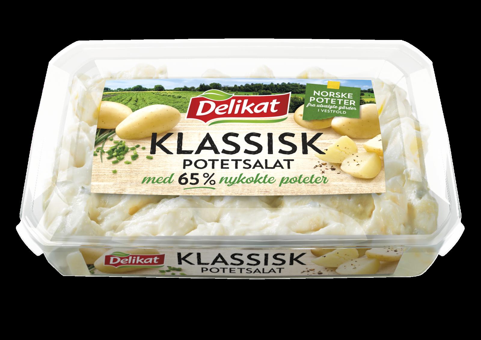 Delikat Klassisk Potetsalat