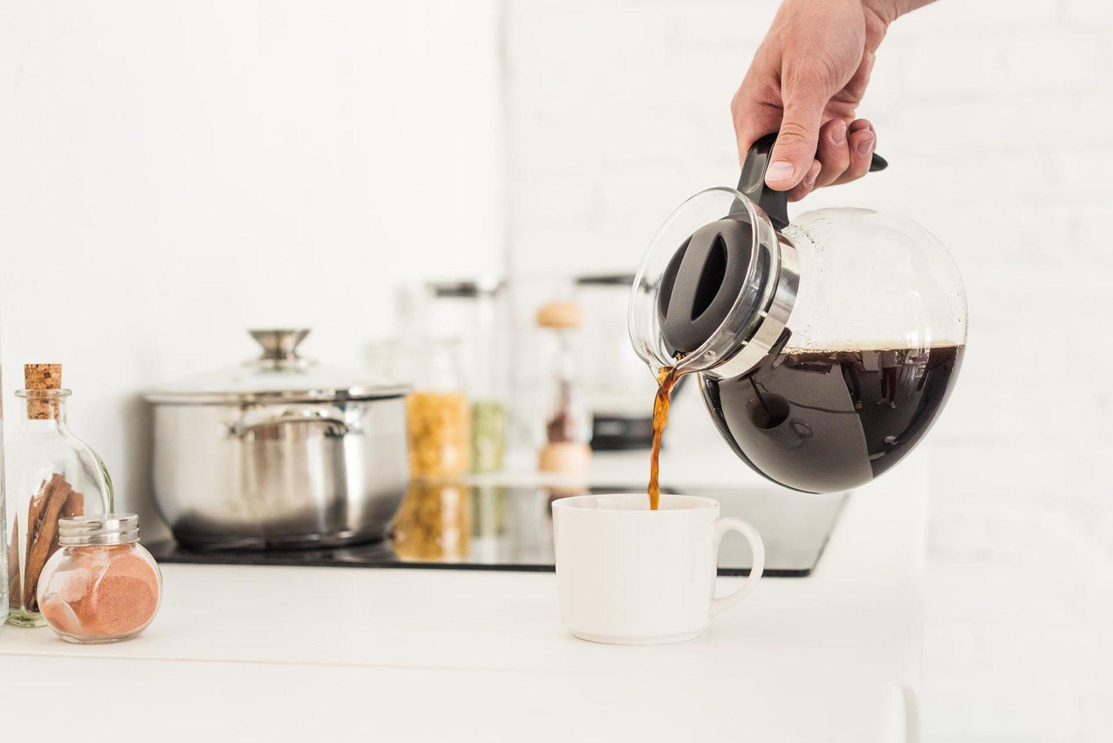 Filterkaffe helles i kaffekopp
