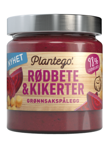 Plantego' Rødbete & Kikerter