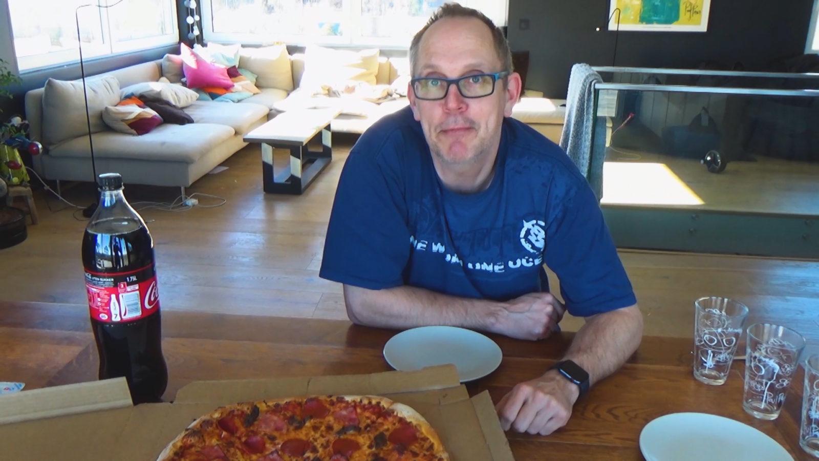 Tom har gått på pizzasmell