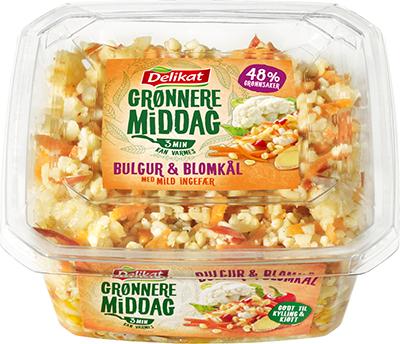 Delikat Grønnere Middag – Bulgur og blomkål