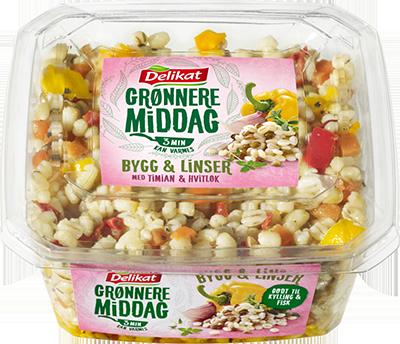 Delikat Grønnere Middag – Bygg & Linser