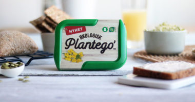 plantego' på kjøkkenbord