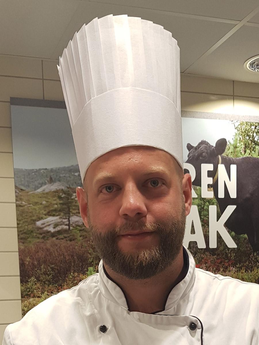 Restaurantkokk Kristian Hamnaberg