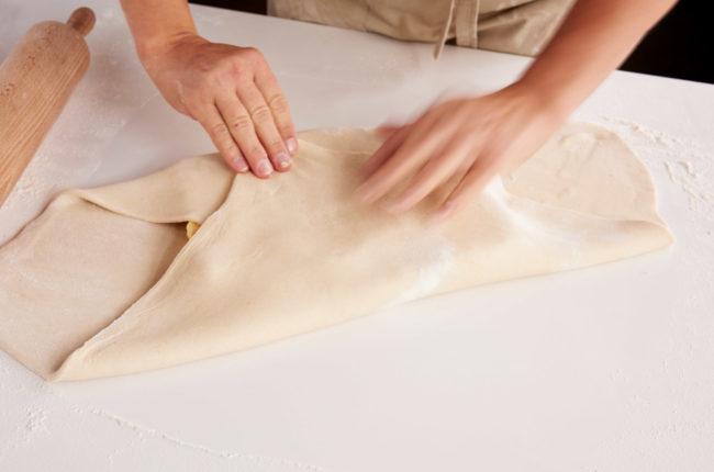 Bretting butterdeig