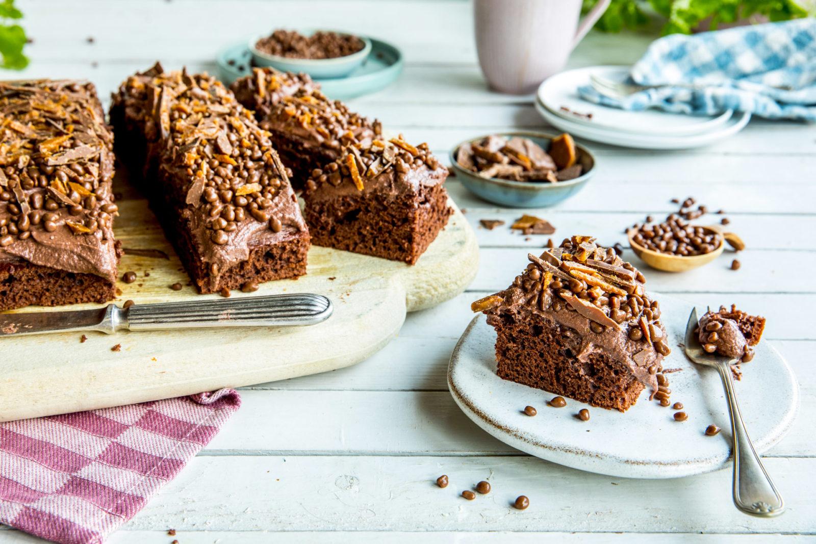 Sjokoladekake med daim