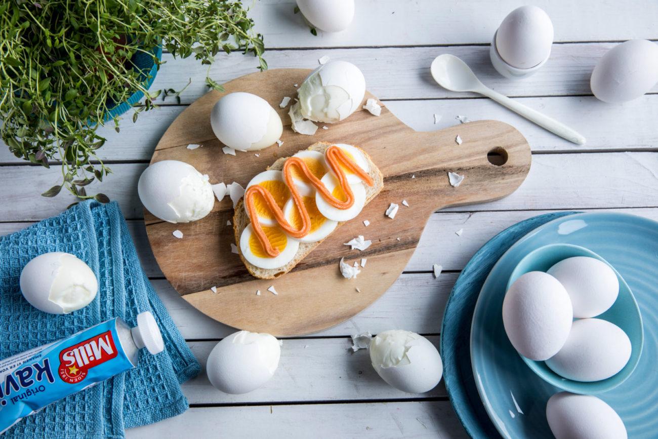 Eggskrellingstriks. Foto.