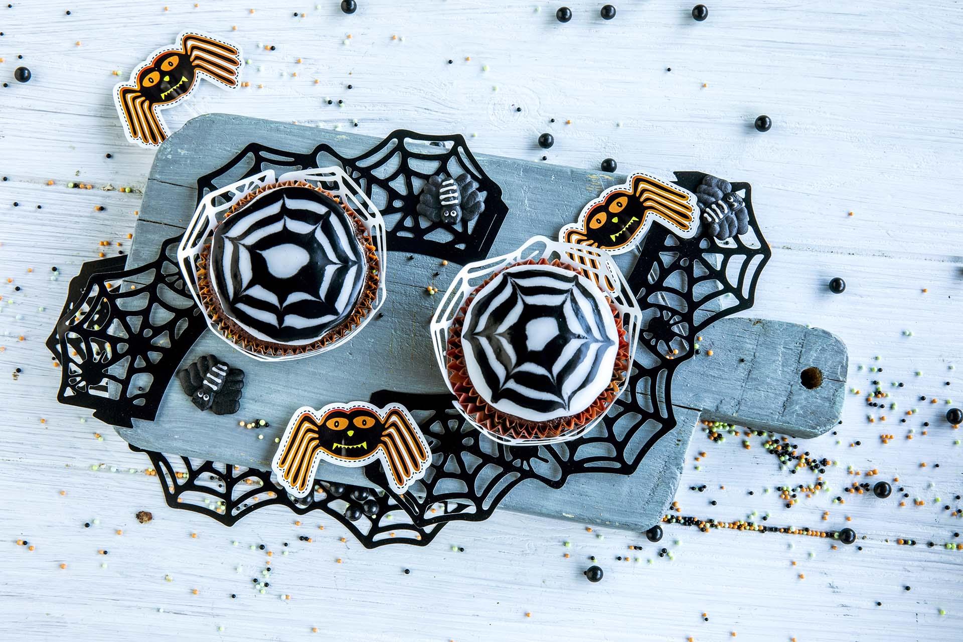 spindelvevmuffins