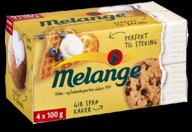 Melange Sticks porsjonpakninger på 100 gram. Foto.