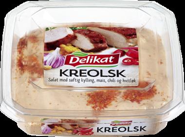 pakningsfoto av Delikat kreolsk kyllingsalat