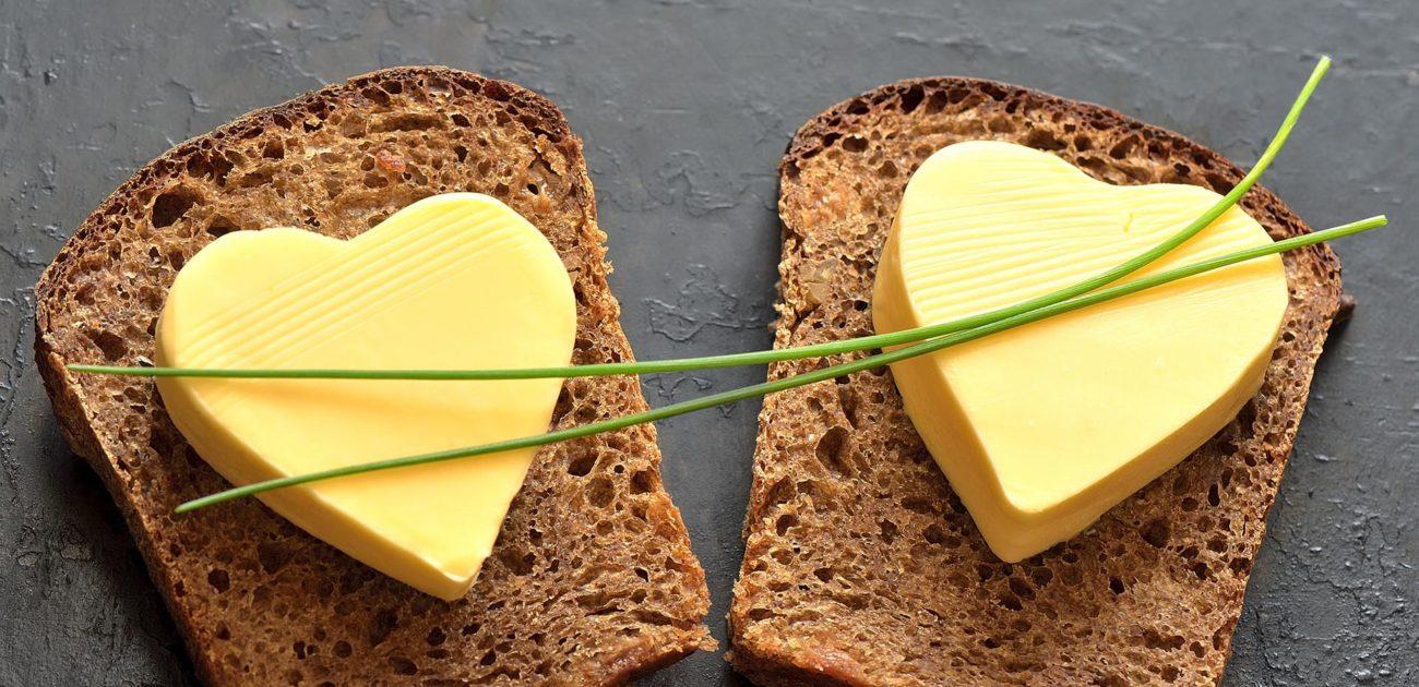 Forskjellen på smør og margarin