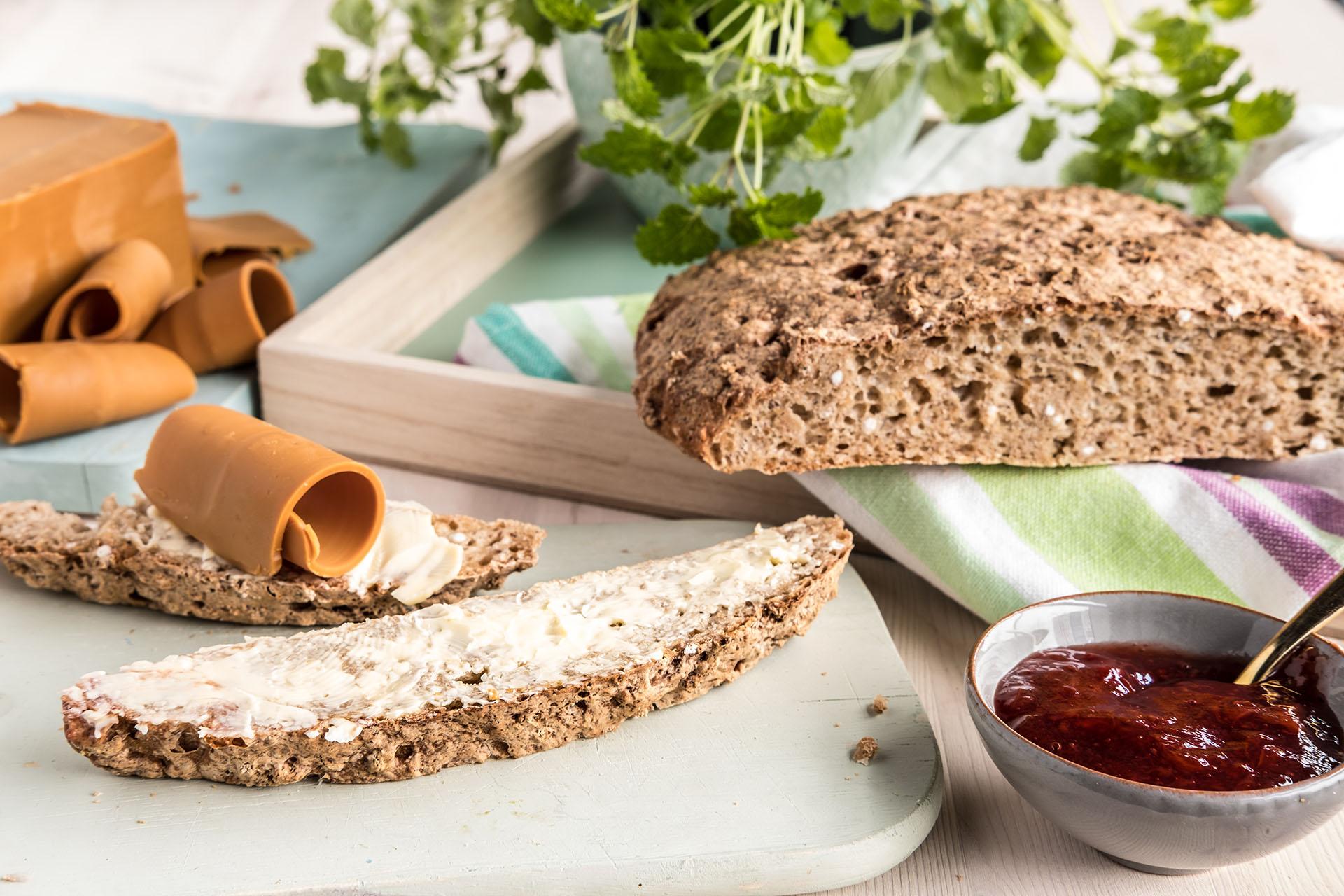 Eltefritt glutenfritt brød