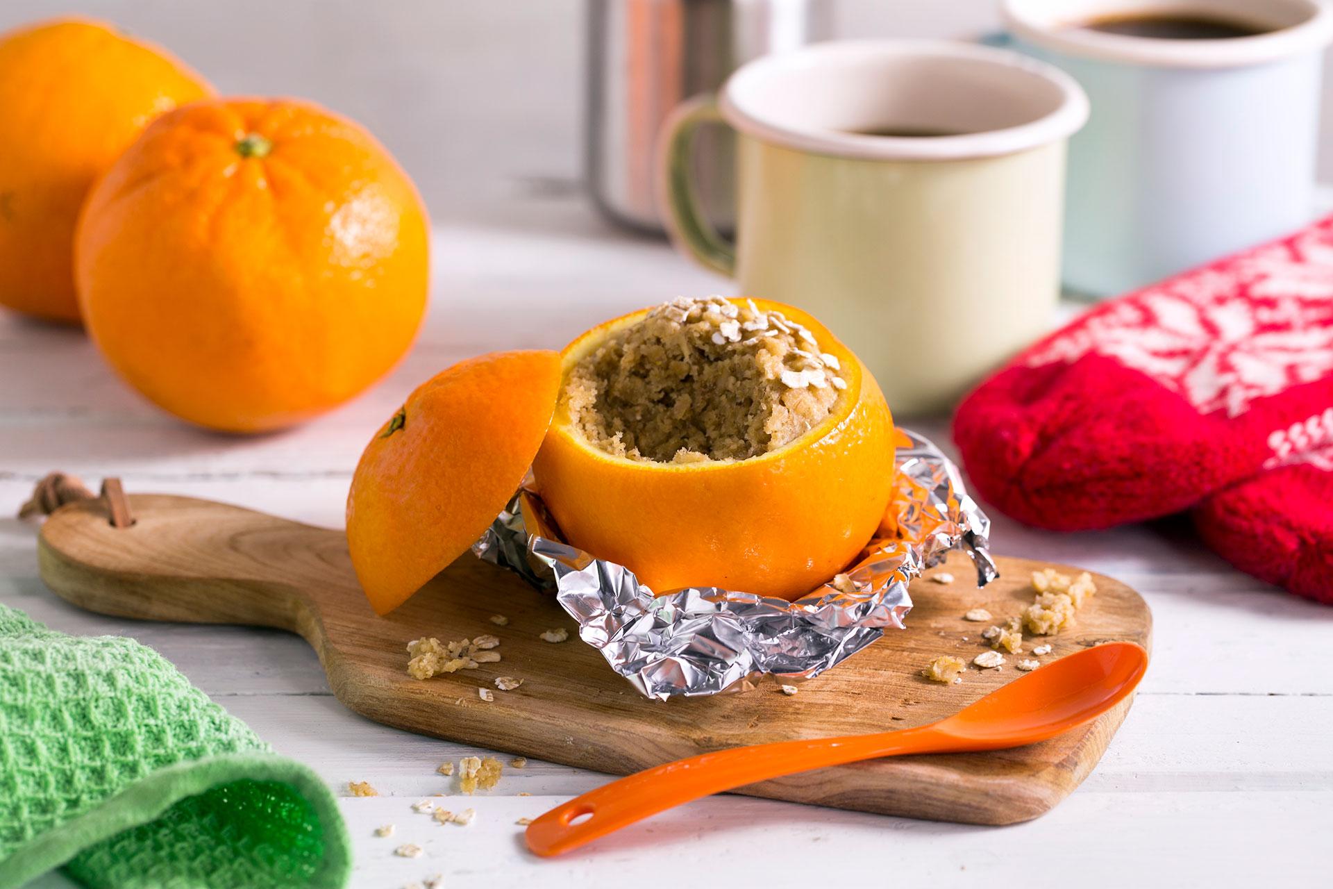 Muffins i appelsinskall