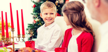barn julemiddag