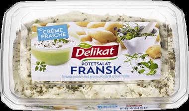 Delikat potetsalat fransk