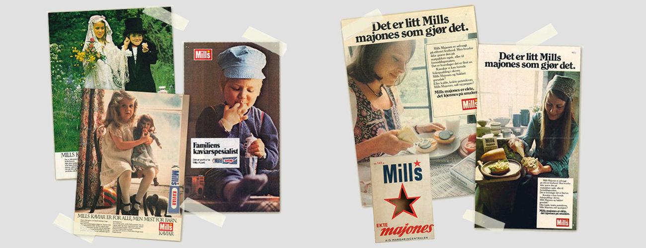 Mills historie
