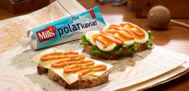 Mills Polarkaviar med egg og brød