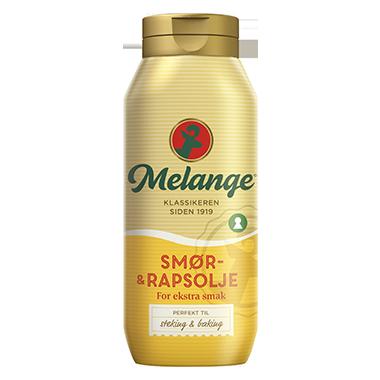 Flytende Melange med smør- og rapsolje