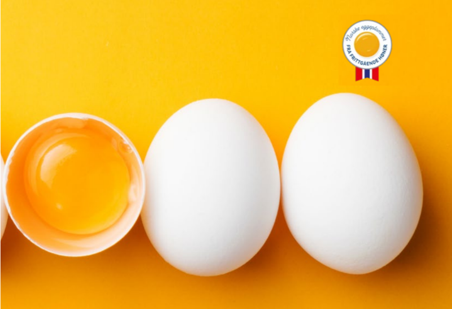 Egg fra frittgående norske høner