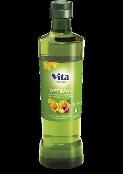 Vita hjertego' Optimal olje 8 x 495 ml