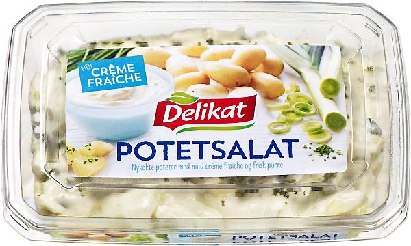 Delikat Potetsalat Crème Fraîche 6 x 420 g