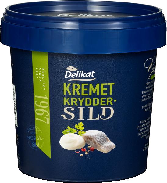 Delikat Kremet Kryddersild 2 x 1200 g