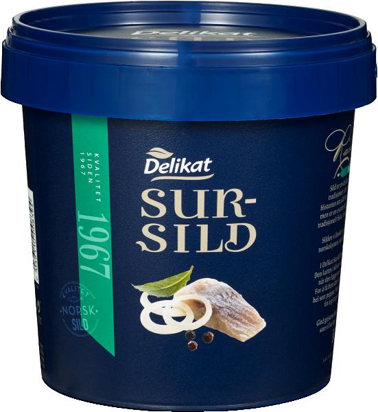 Delikat Sursild 2 x 1300 g