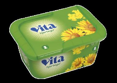Vita hjertego margarin beger