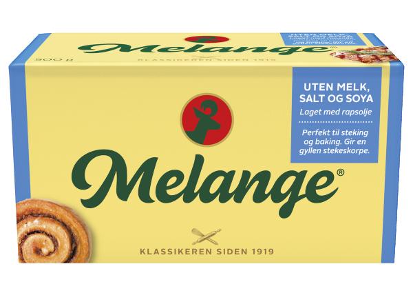 Melange Margarin u/melk, salt og soya 12 x 500g