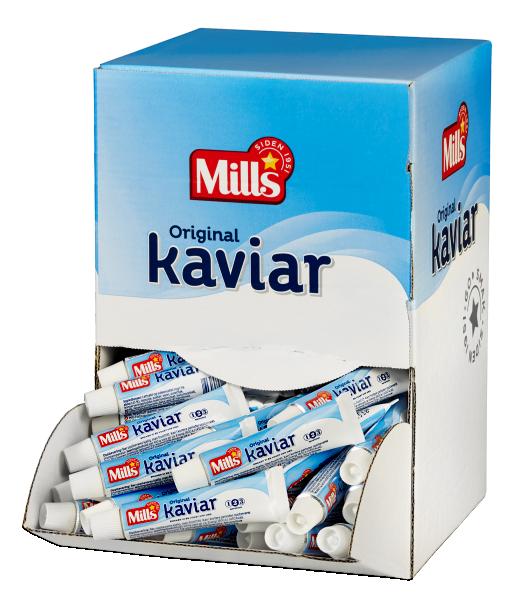 Mills kaviar kuvert 150 x 12g
