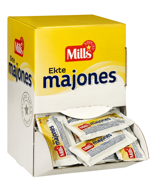 Mills Ekte Majones kuvert 115×12 g