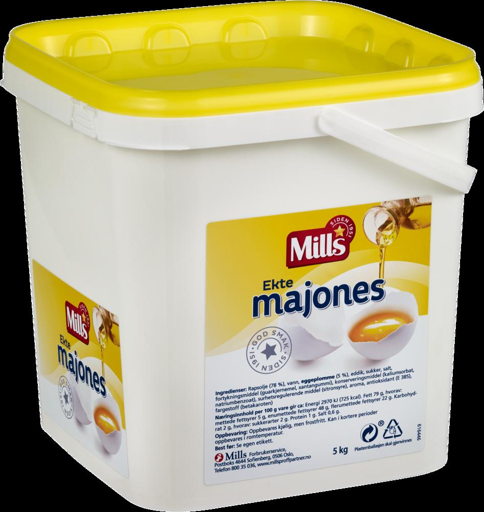 Mills Ekte Majones 5 kg