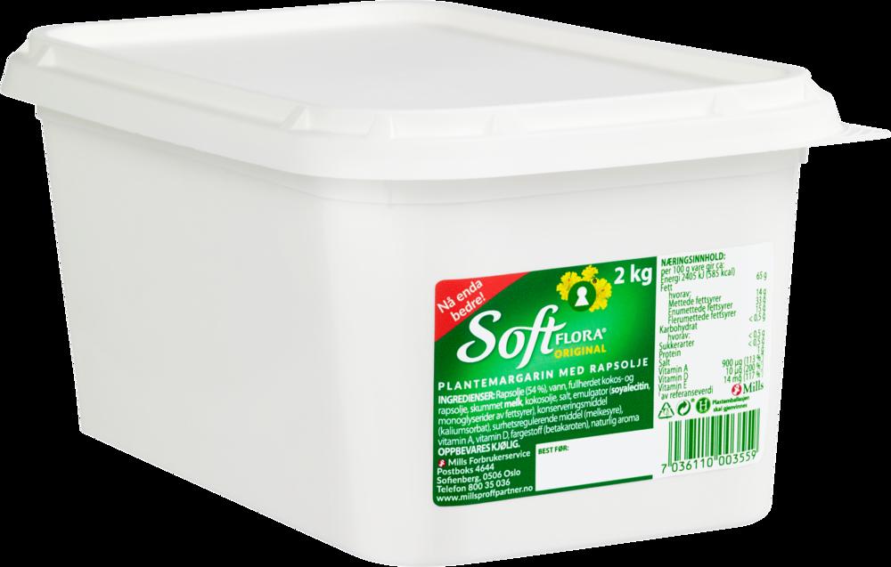 Soft Flora Margarin 2×2 kg