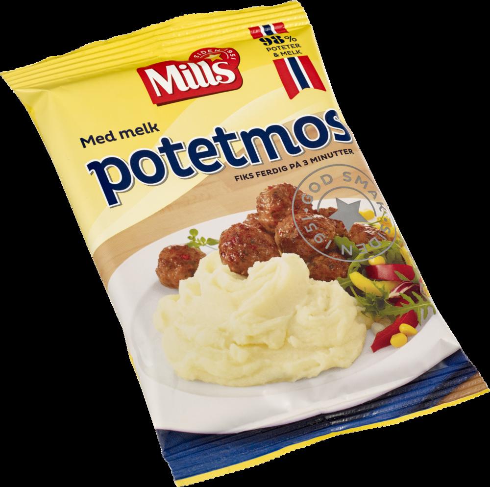 Mills Potetmos med melk 36×95 g