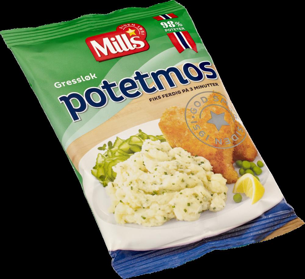 Mills Potetmos med gressløk 36×90 g