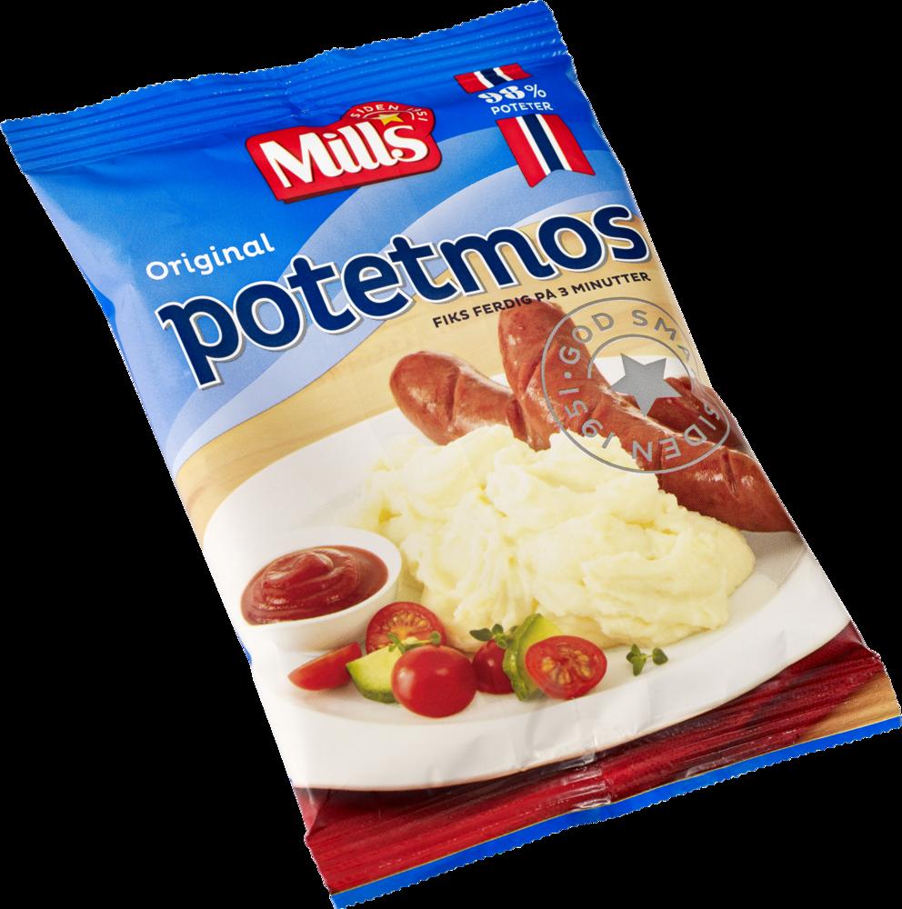 Mills Potetmos Vanlig 36×90 g