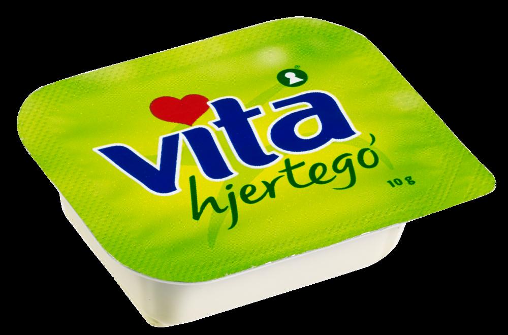 Vita hjertego' myk Plantemargarin kuvert 200×10 g