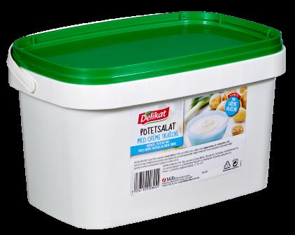 Delikat Potetsalat Crème Fraîche 2,5 kg