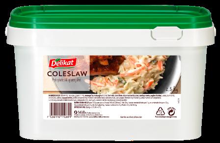 Delikat Coleslaw 2,5 kg