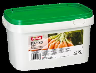 Delikat Italiens salat 2.5 kg