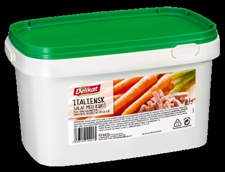 Delikat Italiensk Salat m/Kjøtt 2,5 kg