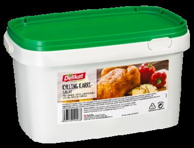 Delikat Kylling Karrisalat 2,5 kg