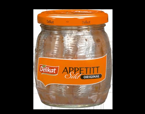 Delikat Appetittsild Original 12×270 g