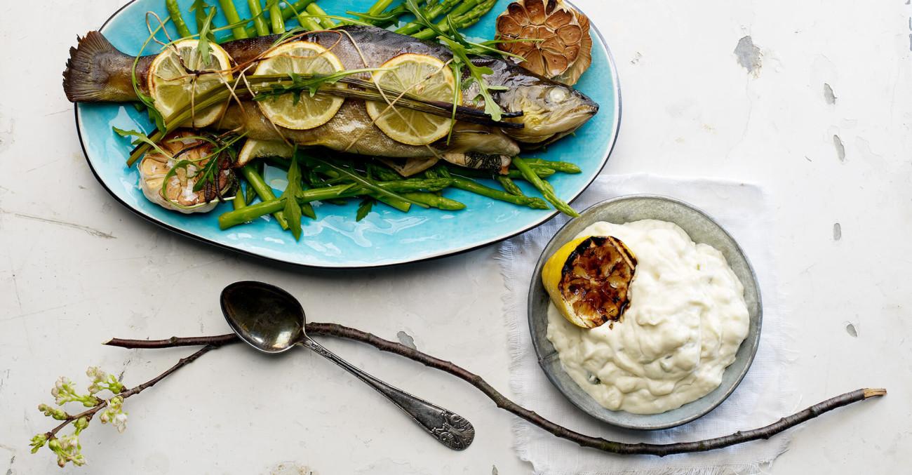 Delikat potetsalat med fisk