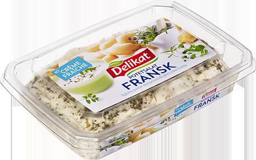 Delikat Potetsalat Créme Fraîche Fransk 6×420 g