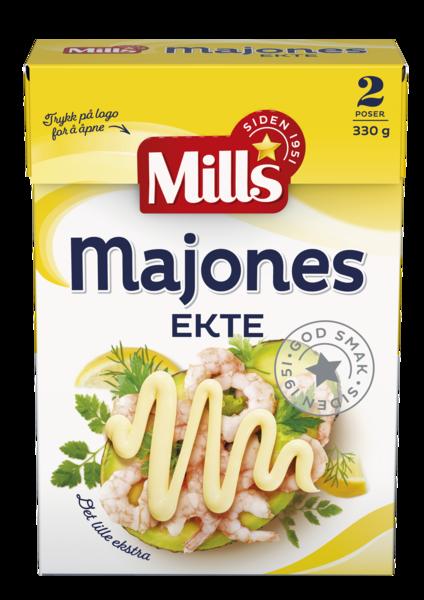 Mills Ekte Majones Sjaktel 8×330 g
