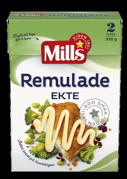 Mills Ekte Remulade Sjaktel  8 x 330g