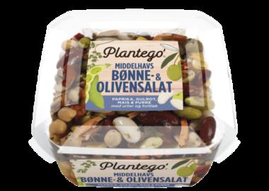Plantego bønne og oliven